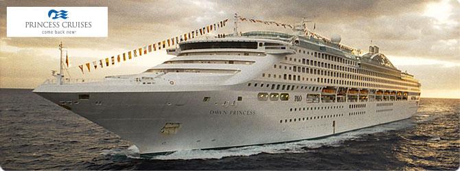 Princess Cruise Line Dawn Princess