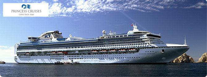 Princess Cruise Line Diamond Princess