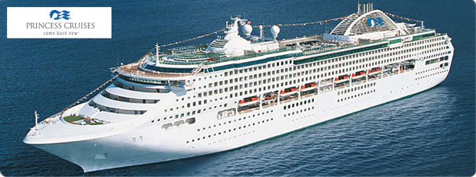 Princess Cruise Line Sea Princess Ship