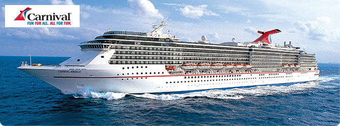 Carnival Cruises with Carnival Miracle