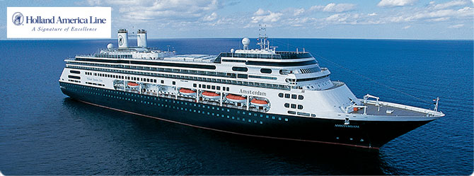 Holland America Cruise Line MS Amsterdam