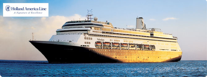 Holland America Cruise Line MS Volendam