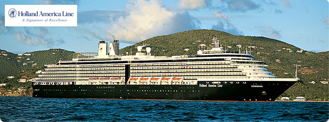 Holland America Cruise Line MS Zuiderdam