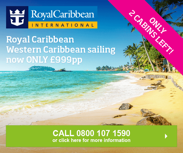 Royal Caribbean Western Caribbean sailing now ONLY £999pp