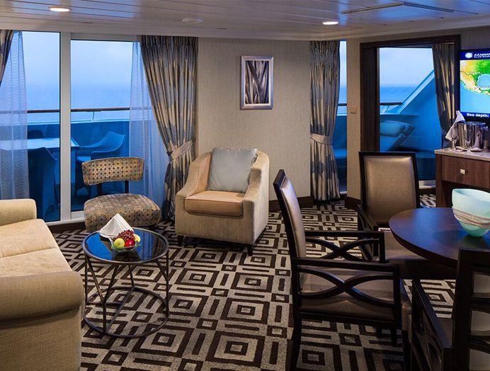 Club ocean suite en Azamara Club Cruises