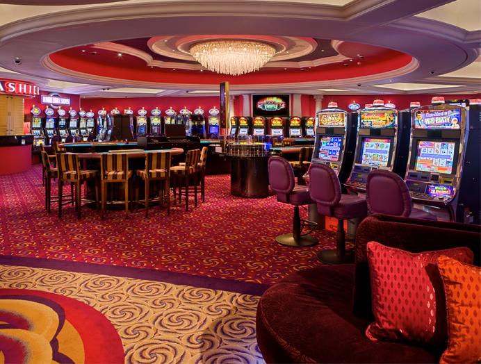 Casino a bordo de Crystal Cruises