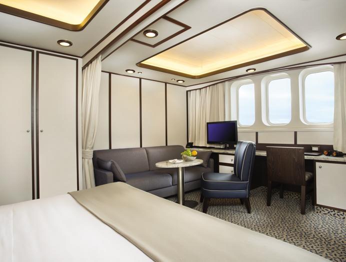 Terrance Suite en Silversea