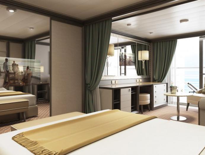 Superior Veranda Suite en Silversea