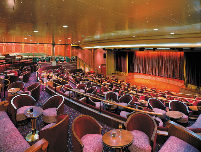 Teatro en Silversea Expedition