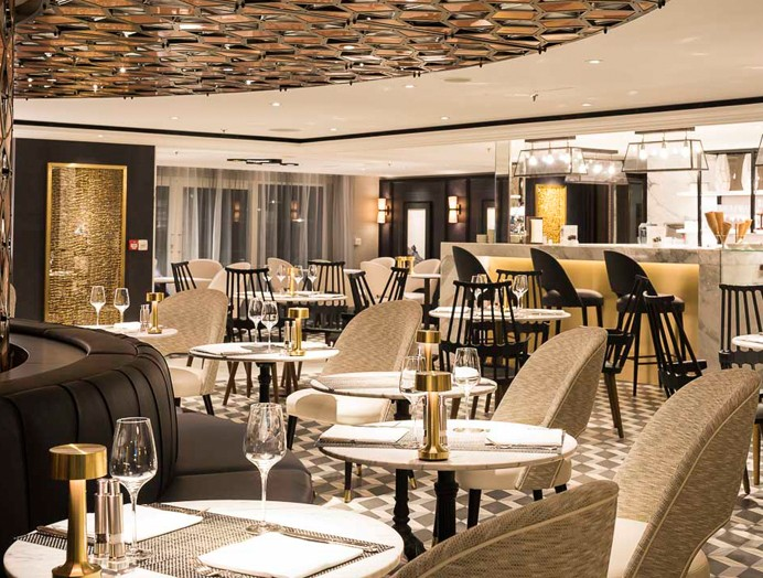 Cruceros Crystal River Cruises, Bristo Café