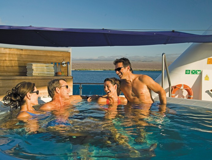 Jacuzzi en Celebrity Expedition