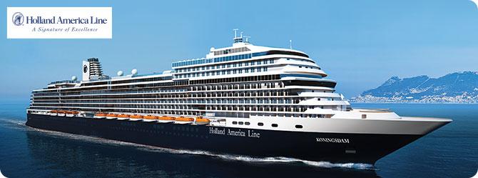 Holland America Cruise Line MS Koningsdam