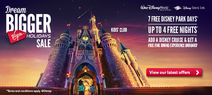 Disney | 7 Free park days, 4 free nights | FREE fine dining experience onboard