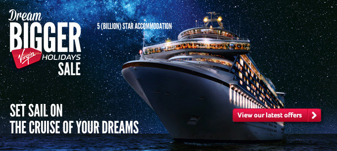 Generic | Dream Bigger Sale | Set Sail on the cruise of your dreams