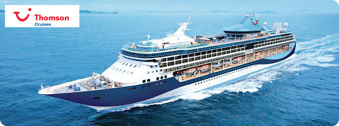 Thomson Cruises with the Thomson Discovery