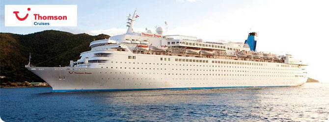 Thomson Cruises with the Thomson Dream