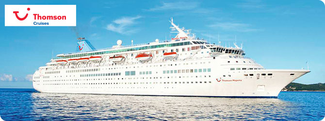 Thomson Cruises with the Thomson Majesty