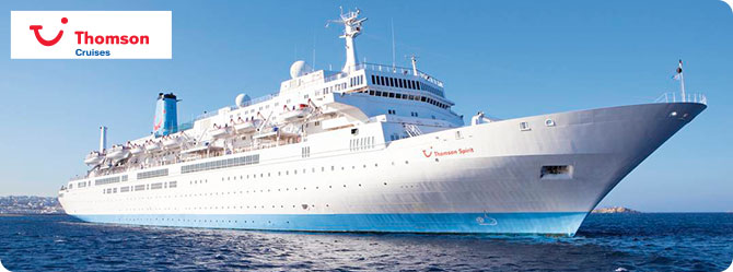 Thomson Cruises with the Thomson Spirit