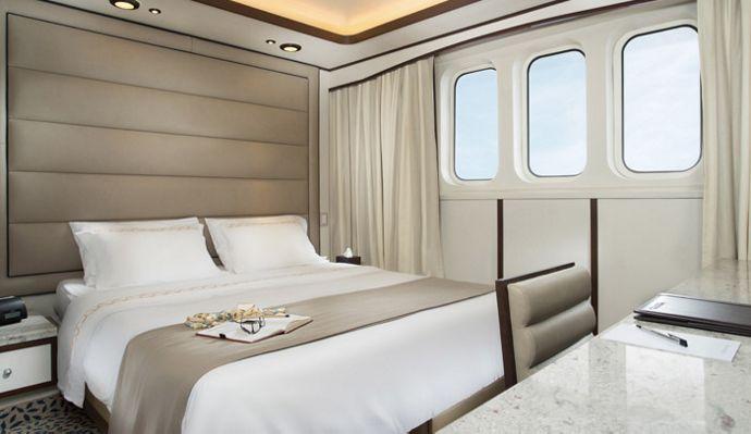 Cruceros Silversea, Explore suite