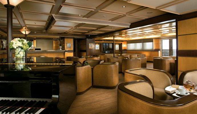 Cruceros Silversea, Entretenimiento a Bordo