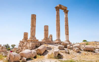 Citadel Ruins in Amman