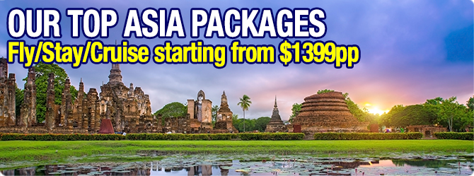 Best Selling Cheap Asia Cruise Packages