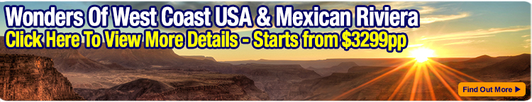 West Coast USA tour with Mexican Riviera