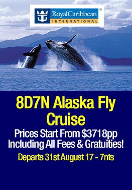 Radiance of the Seas Alaska & Hubbard Glacier