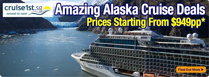 Alaska Cruise Deals from Cruise1st