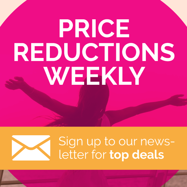 Sign up to our newsletter for top deals