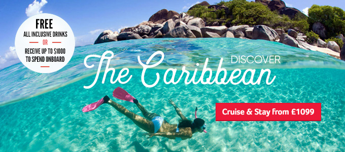 Generic | Discover the Caribbean - Free All Inclusive or $100 OBC | Cruise & Stay from £1099
