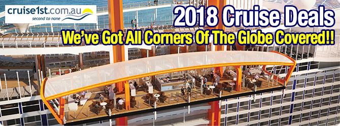 2018 Cruises Now on Sale!