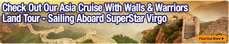 Add a Walls & Warriors Tour to your SuperStar Virgo cruise