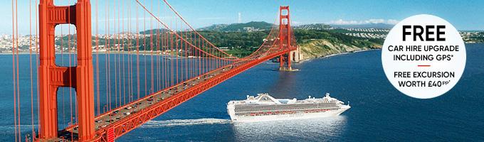 Princess Cruises - Golden Gate Bridge