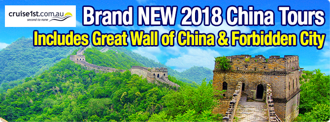 Brand New Asia Cruise and Tours