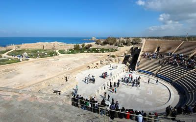 Roman Theatre in Caesarea