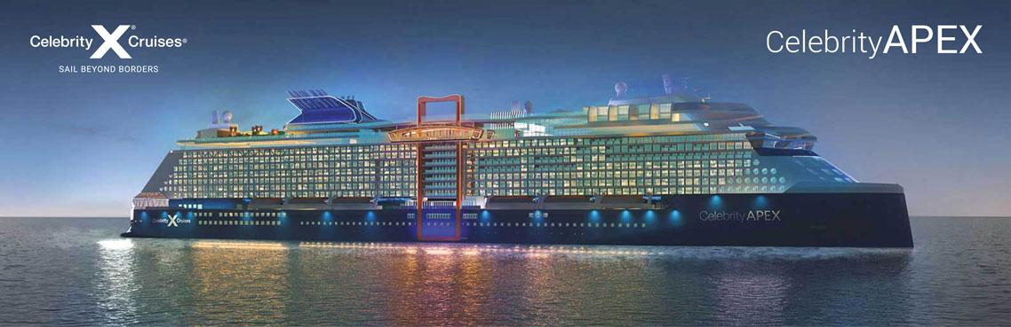 Celebrity Apex New Cruise Ship 2020
