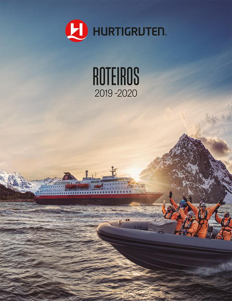 Folheto Hurtigruten 2019 - 2020