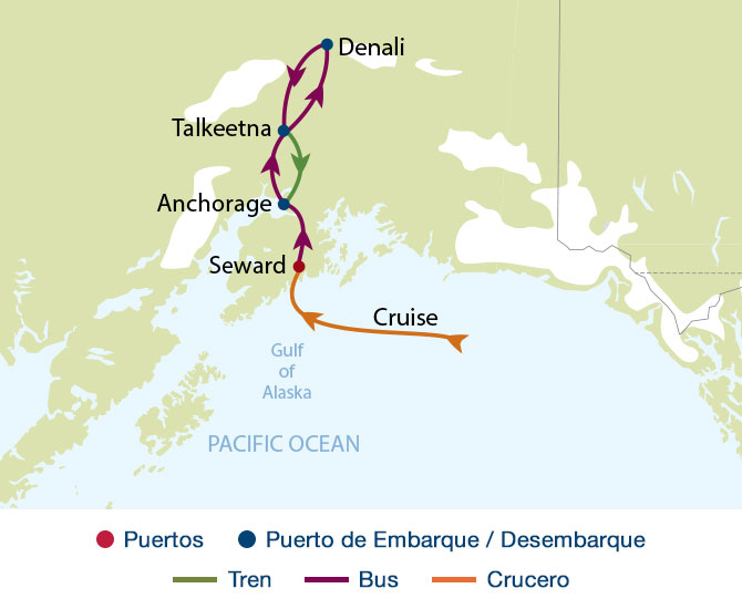 Paquetes de Viaje por Alaska