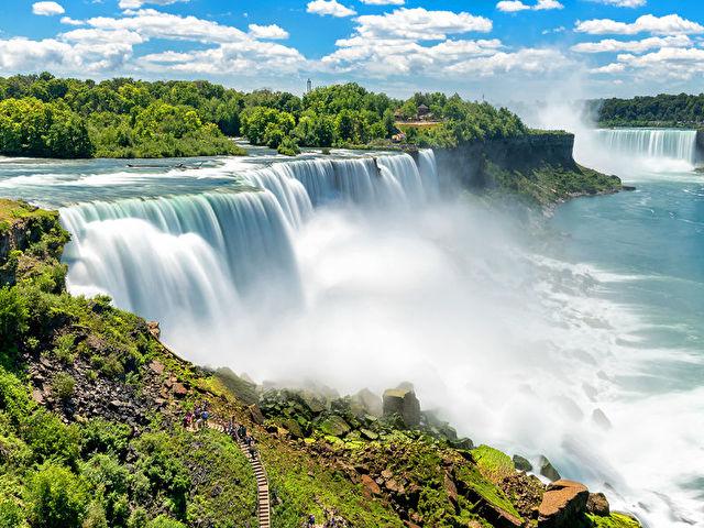 Transatlantic Crossing with NYC and Niagara Falls
