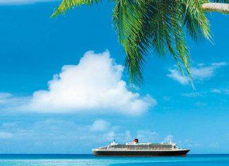 Passe o Natal e Réveillon no Caribe a bordo da Cunard Line