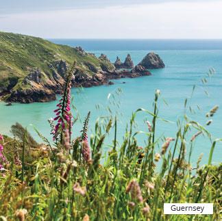Destination from Uk, Guernsey