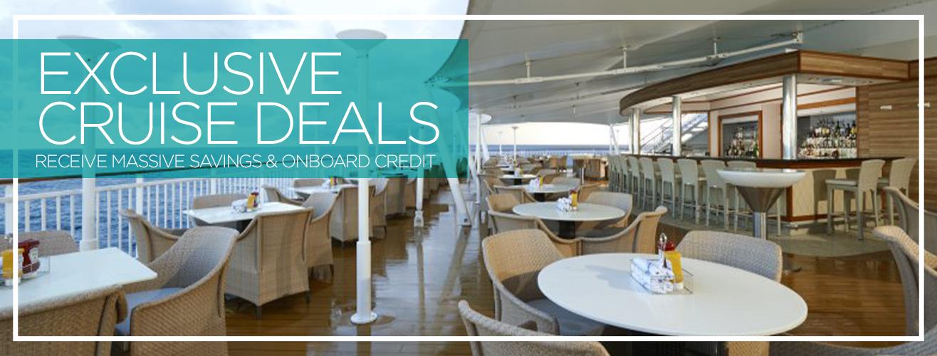 Exclusive Cruise Deals
